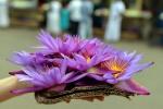 Цветы у храма зуба Будды